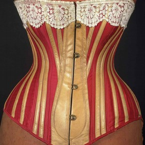 Corset - Red-Gold 1883