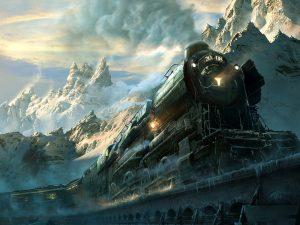 Northern Steam Train