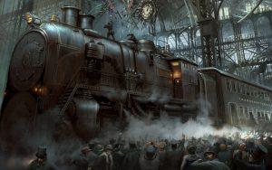 train steampunk